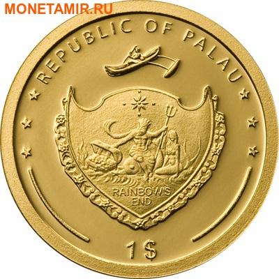 Палау 1 доллар 2008.Святой Франциск Ассизский.Арт.60 (фото, вид 1)