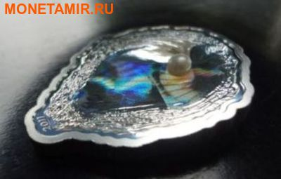 Палау 5 долларов 2011.Устрица с жемчужиной.Арт.001101442286/60 (фото, вид 2)