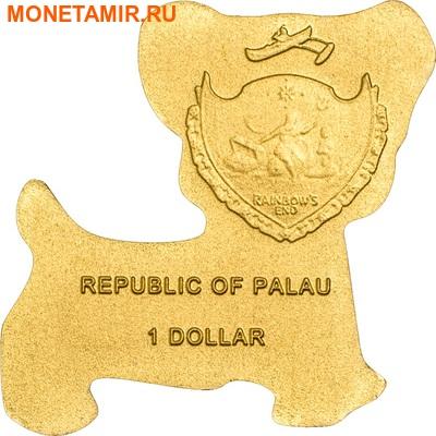 Палау 1 доллар 2013.Собака.Арт.000180145241/60 (фото, вид 1)