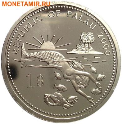 Палау 1 доллар 2000.Рыба-меч – Защита морской жизни.Арт.000031942308/60 (фото, вид 1)