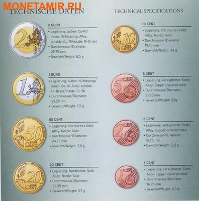 Австрия 3,88 евро 2011.Официальный годовой набор евро.Арт.000086234979/60 (фото, вид 2)