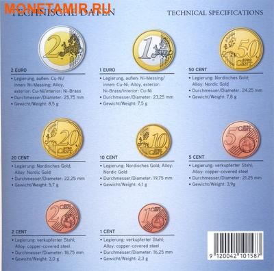 Австрия 3,88 евро 2014.Официальный годовой набор евро.Арт.60 (фото, вид 2)