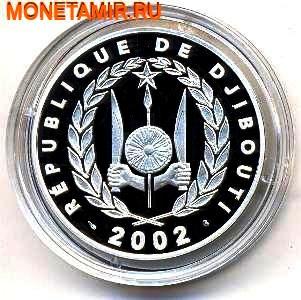 Джибути 250 франков 2002.Верблюды.Единство Равенство Мир (UNITE EGALITE PAIX) – Французские территории.Арт.000280042348/60 (фото, вид 1)