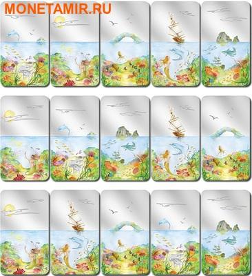 Палау 5х2 доллара 2012.Бесконечный рай.Арт.001019338965/60 (фото, вид 7)