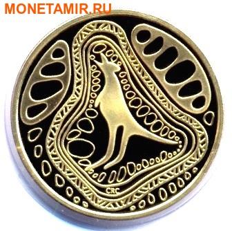 Австралия и Новая Зеландия 2х1 доллар 2005.Кенгуру и Киви.Арт.000034231220/60 (фото, вид 1)