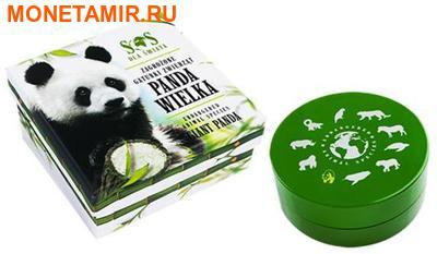 Ниуэ 1 доллар 2014.Большая панда – Вымирающие виды животных.Арт.60 (фото, вид 3)