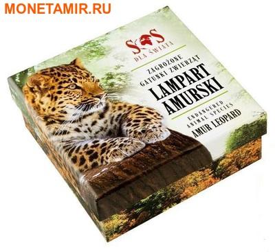 Ниуэ 1 доллар 2014.Амурский Леопард – Вымирающие виды животных.Арт.000465249785/60 (фото, вид 3)