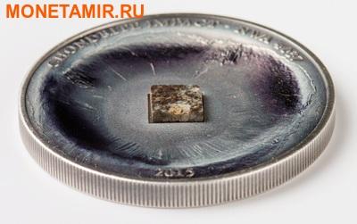 Острова Кука 5 долларов 2015.Метеорит NWA 4037.Арт.60 (фото, вид 2)