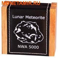 Ниуэ 1 доллар 2015.Лунный метеорит NWA 5000.Арт.60 (фото, вид 3)