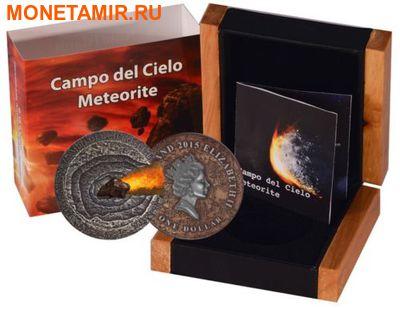 Ниуэ 1 доллар 2015.Метеорит Кампо-дель-Сьело (Campo del Cielo).Арт.60 (фото, вид 2)
