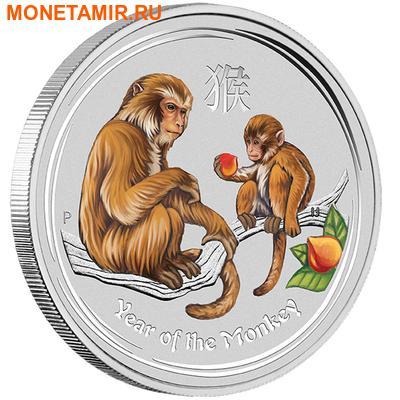 Австралия 4х1 доллар 2016.Год обезьяны – Лунный календарь.Арт.60 (фото, вид 2)