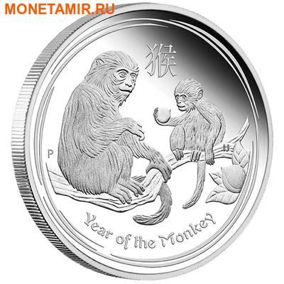 Австралия 4х1 доллар 2016.Год обезьяны – Лунный календарь.Арт.60 (фото, вид 4)