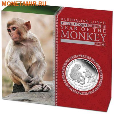 Австралия 1 доллар 2016.Год обезьяны – Лунный календарь.Арт.60 (фото, вид 3)