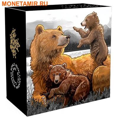Канада 20 долларов 2015.Медведи Гризли.Арт.60 (фото, вид 4)