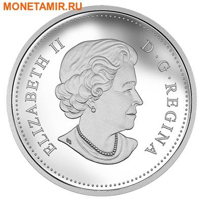Канада 20 долларов 2015.Медведь Гризли ловит рыбу.Арт.60 (фото, вид 2)