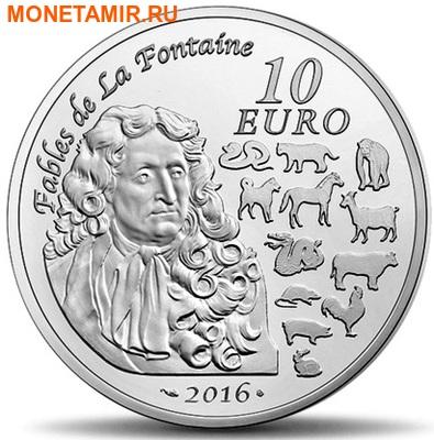 Франция 10 евро 2016.Год Обезьяны – Лунный календарь.Арт.60 (фото, вид 1)