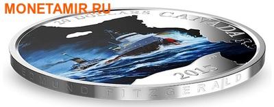 Канада 20 долларов 2015.Сухогруз Эдмунд Фицджеральд серия Потерянные корабли в канадских водах (корабль).Арт.60 (фото, вид 1)
