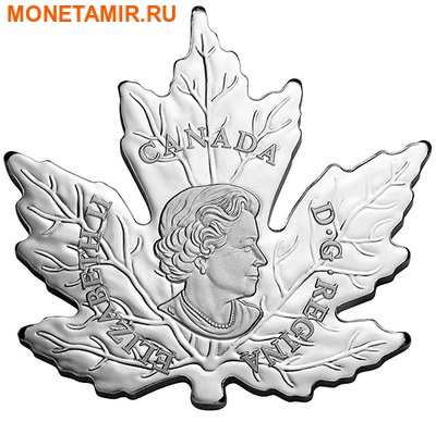 Канада 20 долларов 2015.Канадский Кленовый лист.Арт.60 (фото, вид 2)