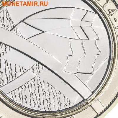 Великобритания Полный Годовой Набор 2016 (The 2016 UK Brilliant Uncirculated Annual Coin Set).Арт.60 (фото, вид 2)
