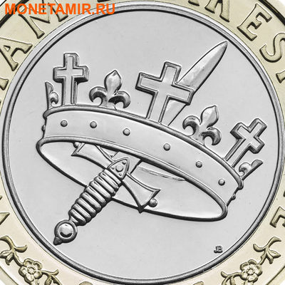 Великобритания Полный Годовой Набор 2016 (The 2016 UK Brilliant Uncirculated Annual Coin Set).Арт.60 (фото, вид 8)