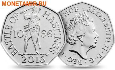 Великобритания Полный Годовой Набор 2016 (The 2016 UK Brilliant Uncirculated Annual Coin Set).Арт.60 (фото, вид 11)