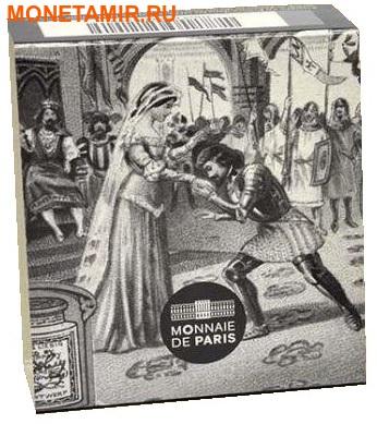 Франция 10 евро 2015.Пьер Корнель – Химена серия Великие характеры французской литературы.Арт.60 (фото, вид 2)