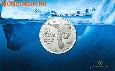 Канада 20 долларов 2012.Полярный медведь (блистер).Арт.60 (фото, вид 2)