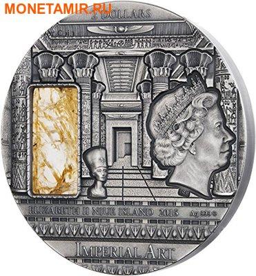Ниуэ 2 доллара 2015.Египет - Сфинкс.Арт.60 (фото, вид 1)