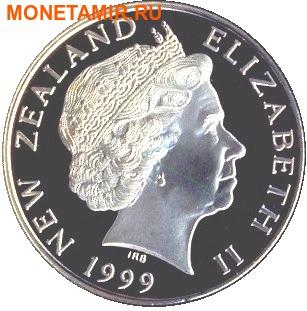 Новая Зеландия 5 долларов 1999.Веллингтон – Гавань.Корабль.(буклет).Арт.60 (фото, вид 1)