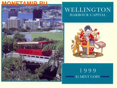 Новая Зеландия 5 долларов 1999.Веллингтон – Гавань.Корабль.(буклет).Арт.60 (фото, вид 4)