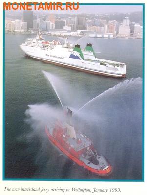 Новая Зеландия 5 долларов 1999.Веллингтон – Гавань.Корабль.(буклет).Арт.60 (фото, вид 5)