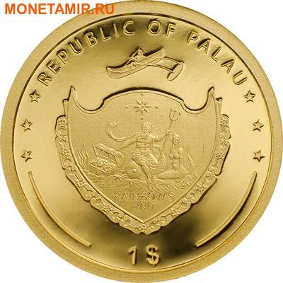 Палау 1 доллар 2016.Клевер – На удачу.Арт.60 (фото, вид 1)
