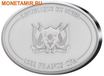 Нигер 1500 франков 2015.Мамонт.Арт.000734151096/60 (фото, вид 1)