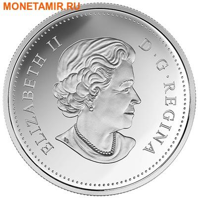 Канада 20 долларов 2015.Олени - Зима.Арт.60 (фото, вид 1)