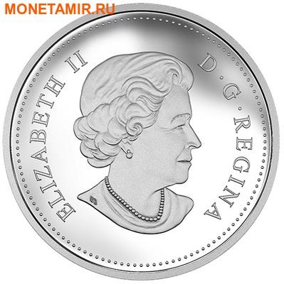 Канада 20 долларов 2015.Медведи Гризли - близость.Арт.60 (фото, вид 1)