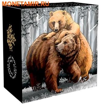 Канада 20 долларов 2015.Медведи Гризли - близость.Арт.60 (фото, вид 3)
