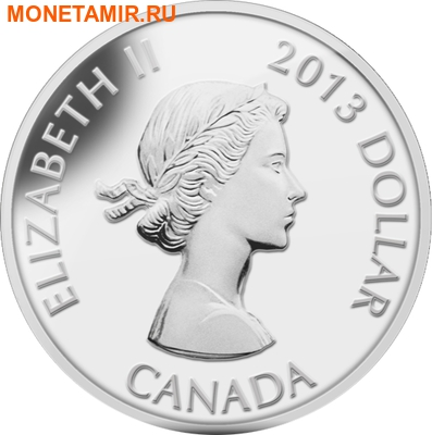 Канада 1 доллар 2013.60 лет перемирию в Корейской войне.Арт.000218244764/60 (фото, вид 1)