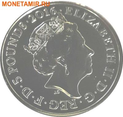 Великобритания Полный Годовой Набор 2016 (The 2016 UK Brilliant Uncirculated Annual Coin Set).Арт.60 (фото, вид 14)