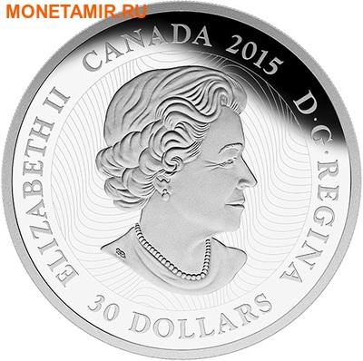 Канада 30 долларов 2015.Светлячки в лунном свете.Арт.60 (фото, вид 2)
