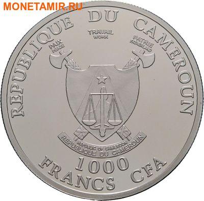 Камерун 1000 франков 2010.Футбол ФИФА Южная Африка 2010.Арт.000274851091/60 (фото, вид 1)