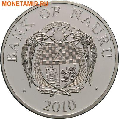 Науру 10 долларов 2010.Футбол ФИФА Южная Африка 2010.Арт.000274851085/60 (фото, вид 1)