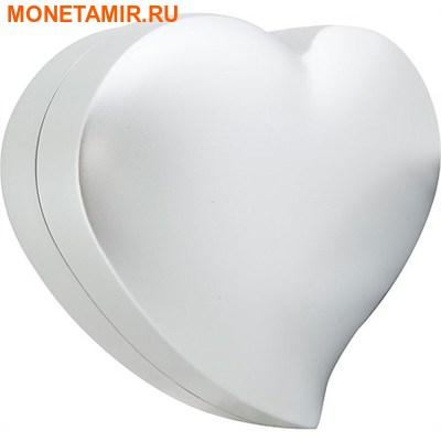 Ниуэ 2 доллара 2016.Любовь – Колибри (сердце цирконий).Арт.60 (фото, вид 3)