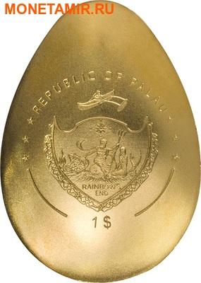 Палау 1 доллар 2016.Золотое яйцо №2.Арт.60 (фото, вид 1)