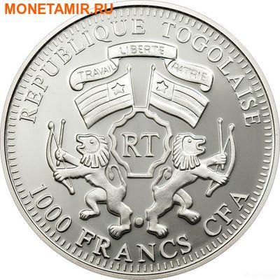 Того 1000 франков 2011.Лев (призма).Арт.000224334338/60 (фото, вид 1)