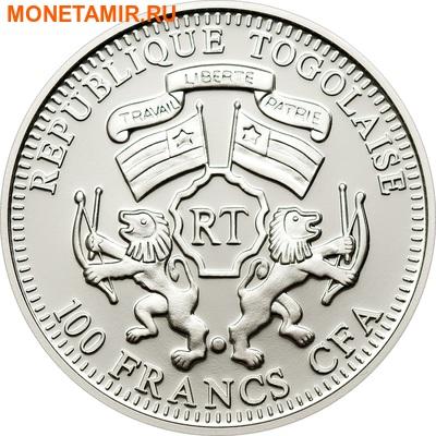 Того 100 франков 2011.Лев (призма).Арт.000091534353/60 (фото, вид 1)