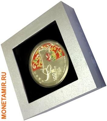 Макао 100 патак 2009.Год Быка – Лунный календарь.Арт.000952418301/60 (фото, вид 2)