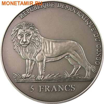 Конго 5 франков 2004.Морской календарь на 50 лет.Арт.000098110828/60 (фото, вид 1)