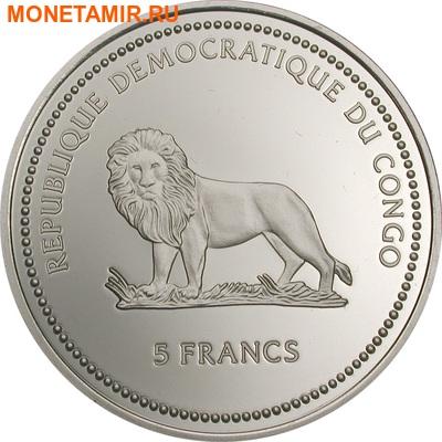 Конго 5 франков 2003.Дельфин (призма).Арт.60 (фото, вид 1)