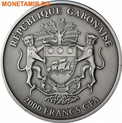 Габон 2000 франков 2013.Змея (зеленая).Арт.000947048770/60 (фото, вид 1)