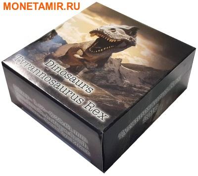 Буркина Фасо 1000 франков 2016.Динозавр – Тираннозавр Рекс (эффект реальных глаз).Арт.60 (фото, вид 3)